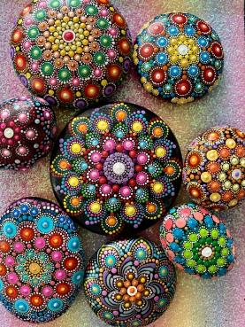 Dot Mandala Art by Suchitra @Essaberry